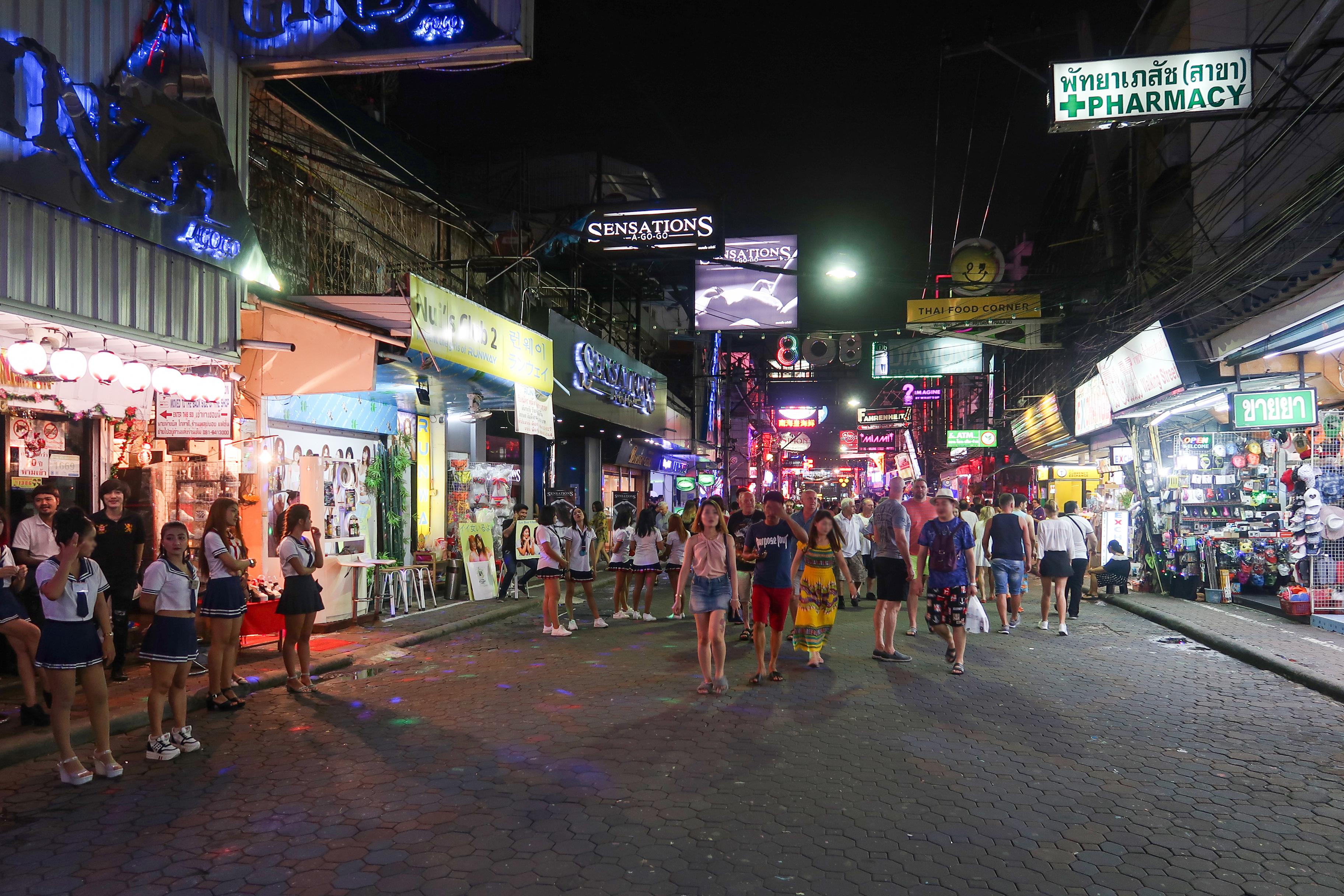 Walking Street Night view