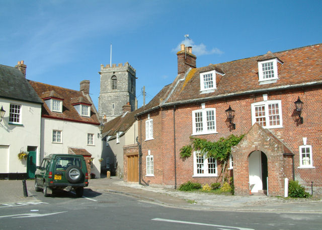 File:Wareham Church from the Old Quay - geograph.org.uk - 851985.jpg