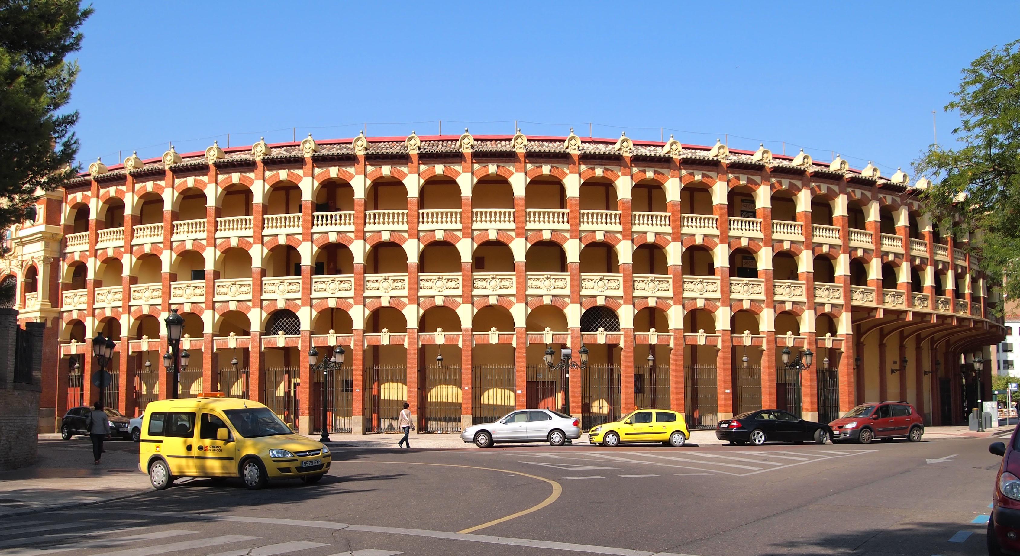 Plaza de toros de Zaragoza - Wikiwand