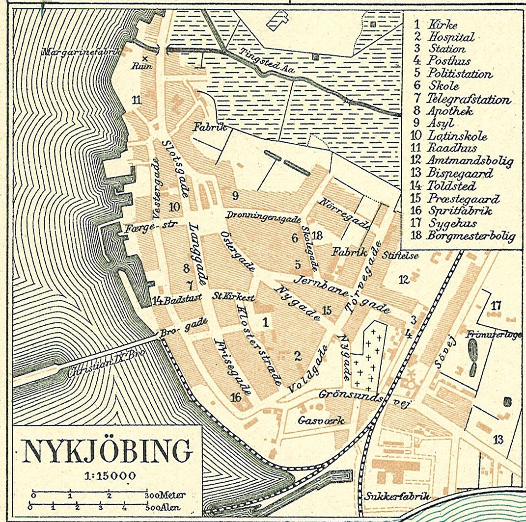 File Nykobingfalster 1900 Jpg Wikimedia Commons