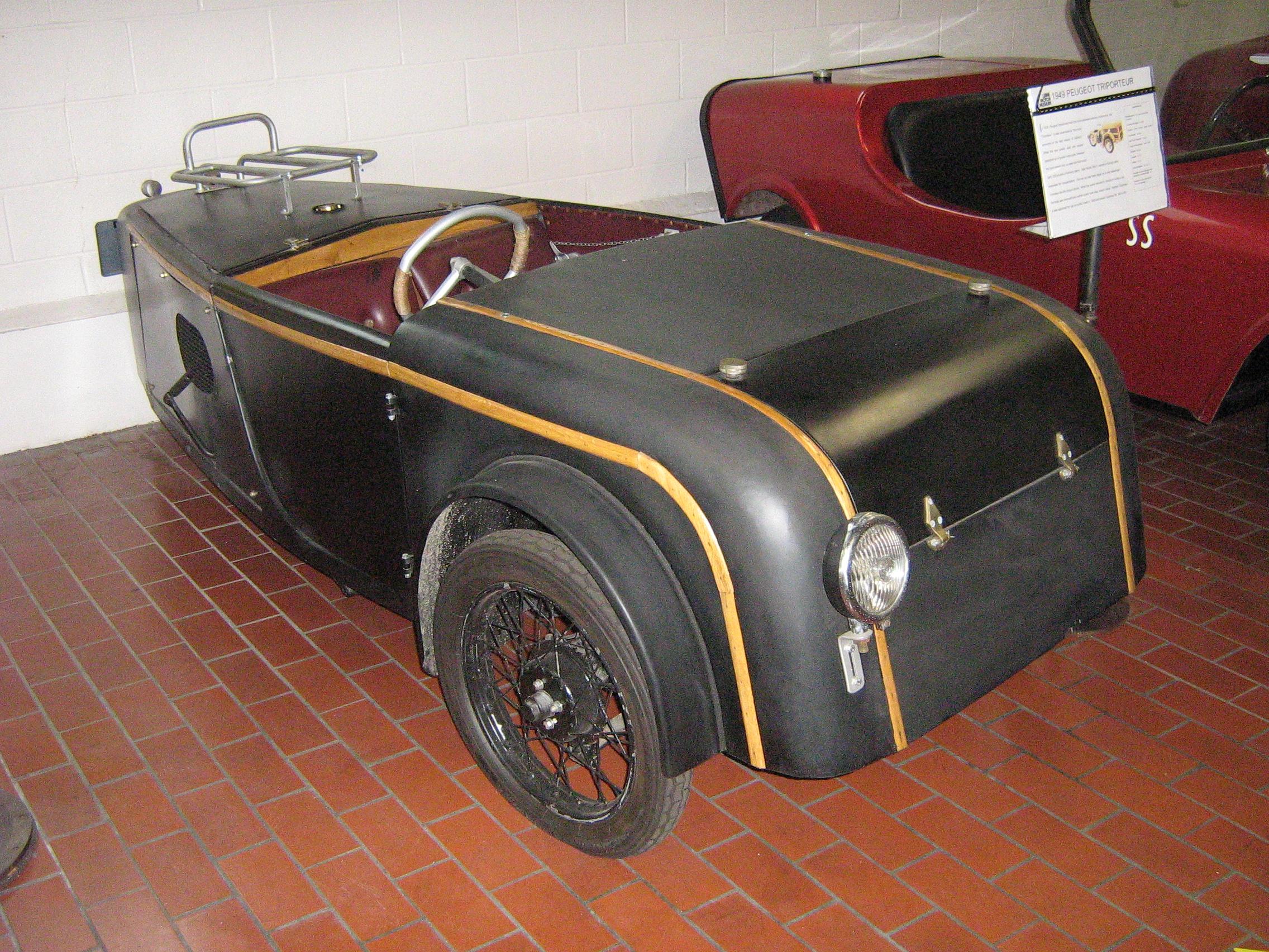 file 1949 peugeot triporteur custom body 3444114050. Black Bedroom Furniture Sets. Home Design Ideas