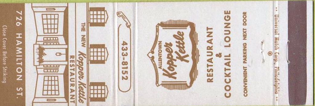 Kopper Kettle Restaurant Washington Pa