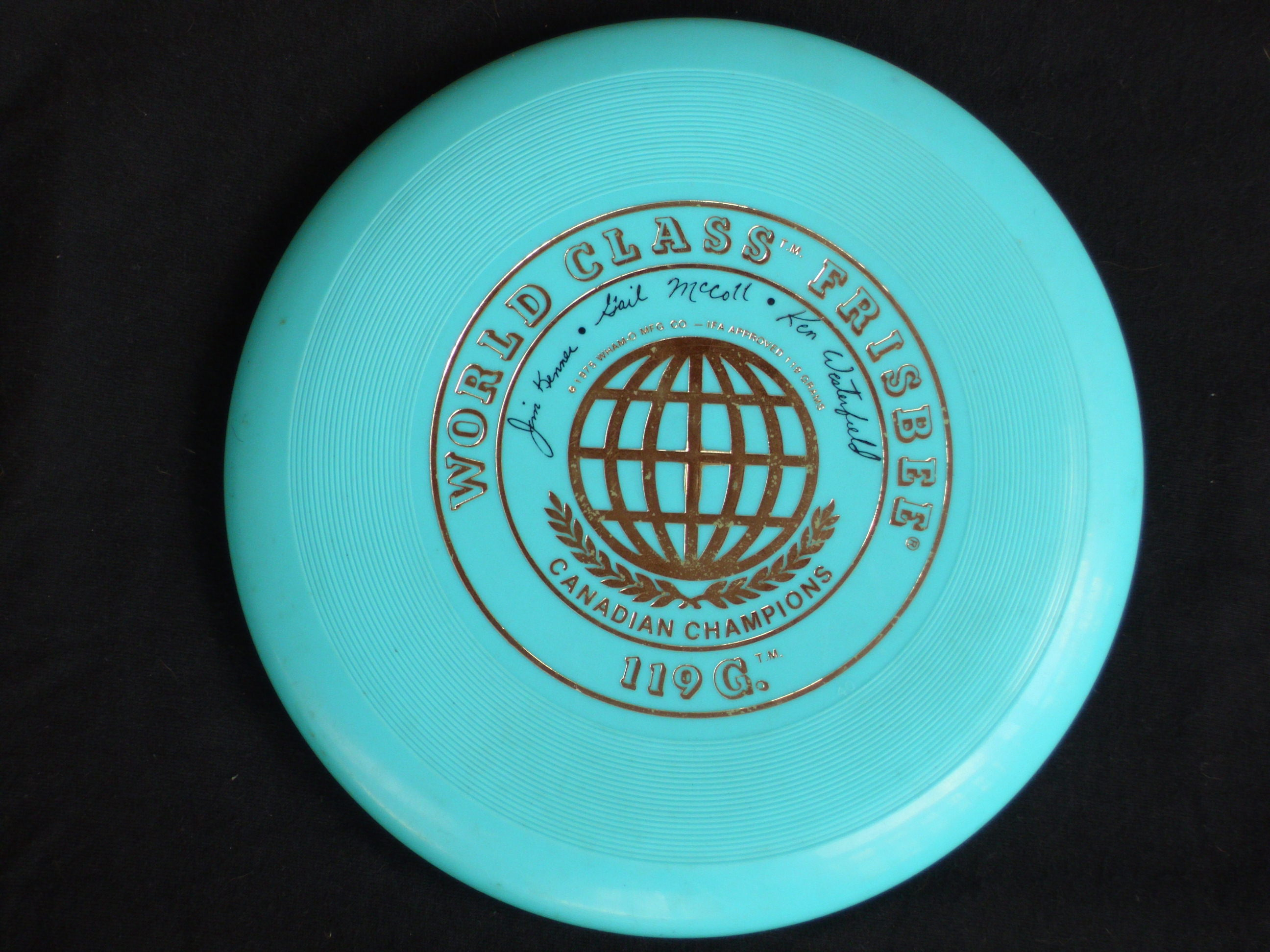 the history and origins of frisbee High school students in maplewood, new jersey, invented ultimate frisbee, a  cross between football, soccer and basketball, in 1967 in the 1970s, headrick.