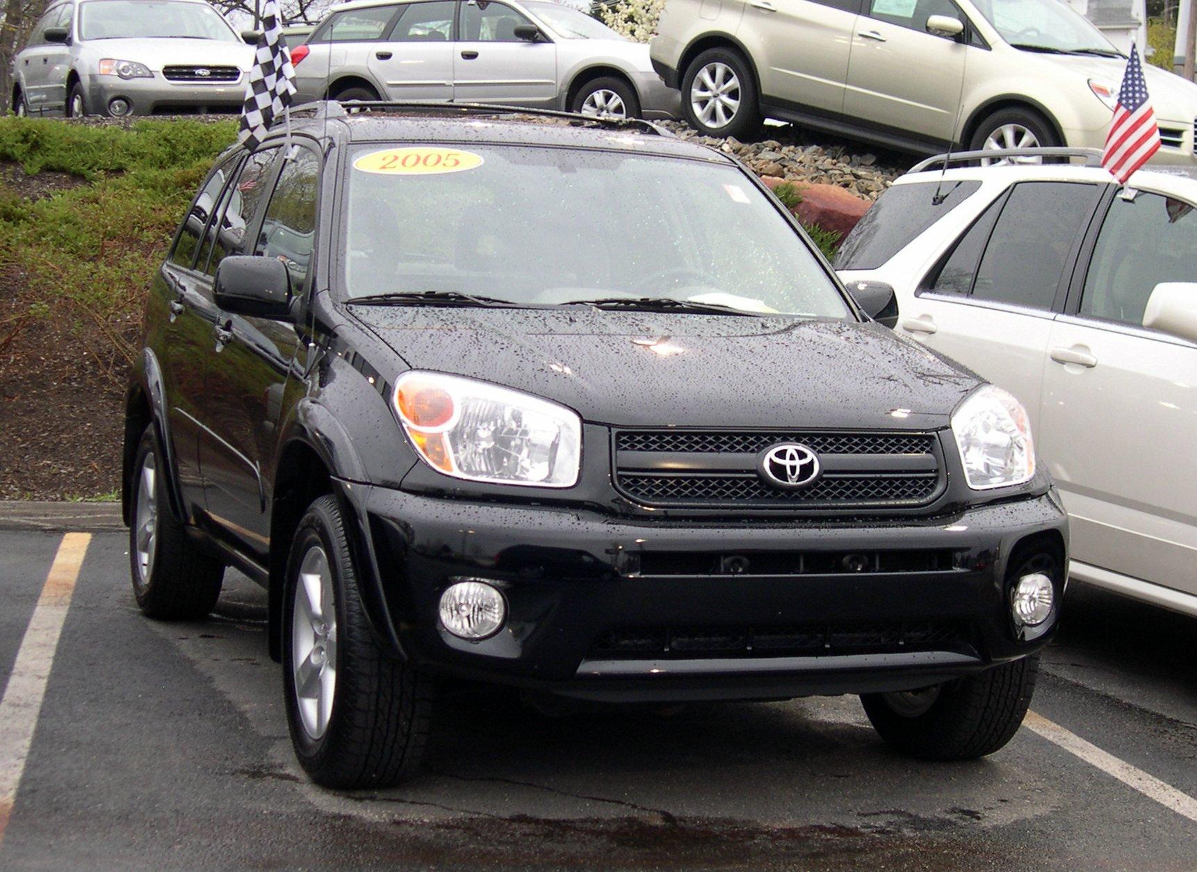 Datei 2005 Toyota Rav4 Jpg Wikipedia