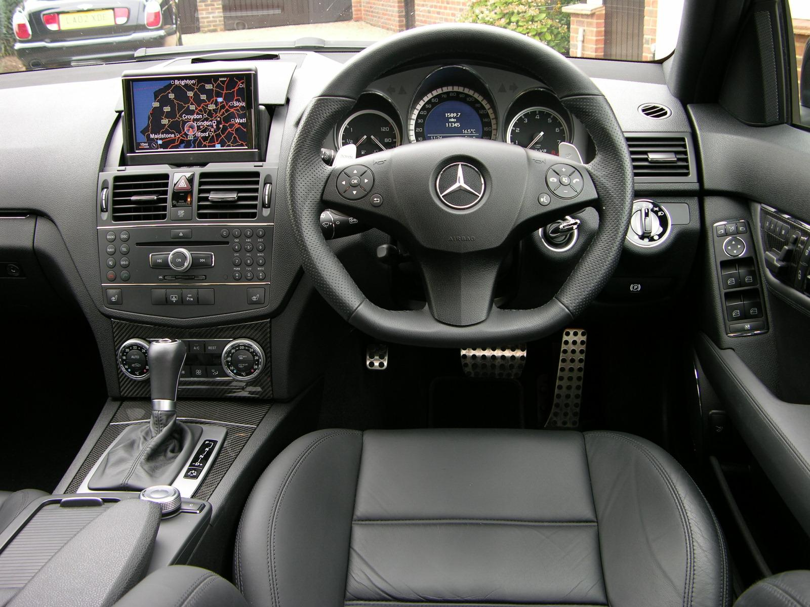 File 2008 mercedes benz c63 amg flickr the car spy 17 for Interieur w204