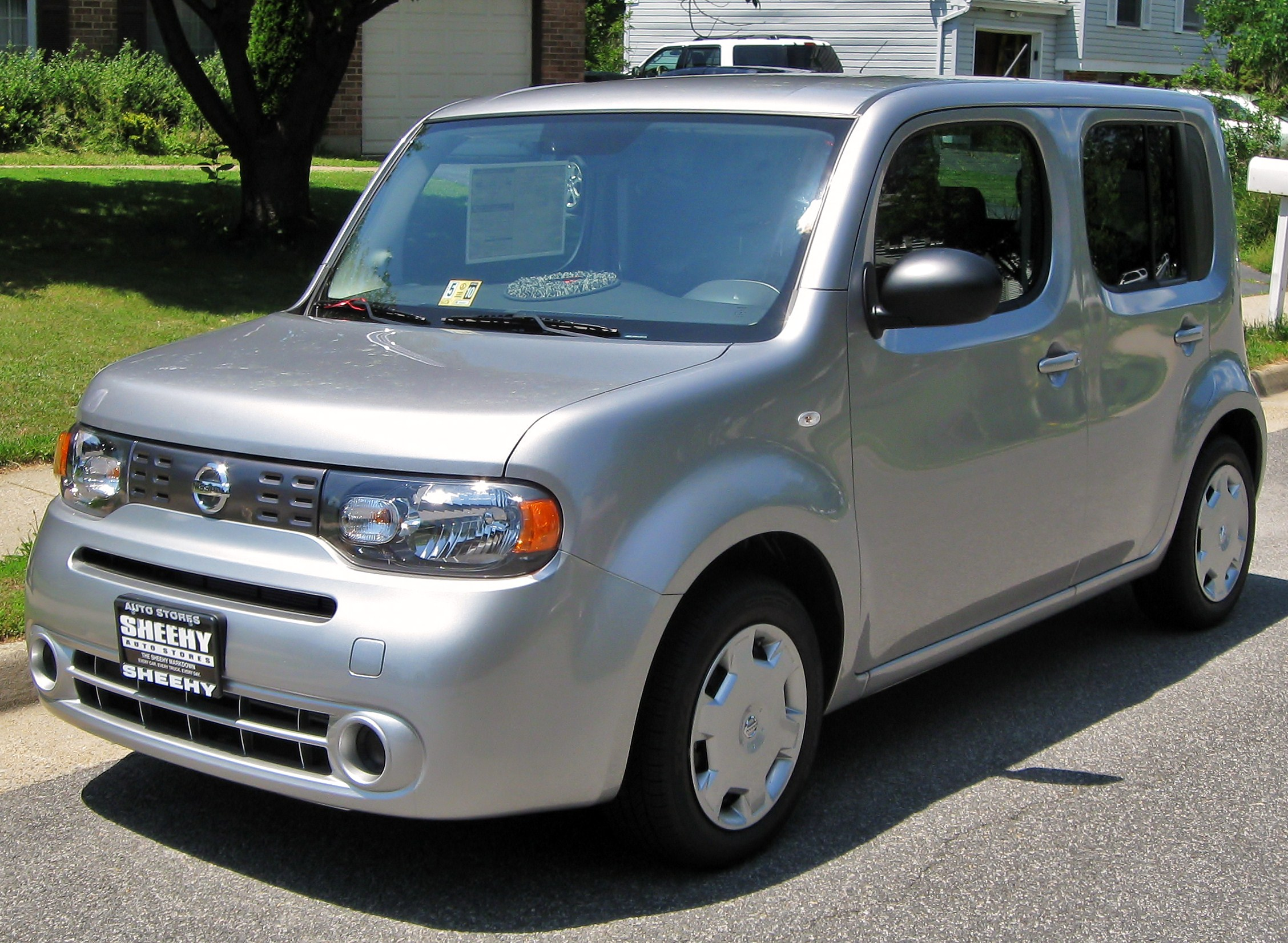 file 2009 nissan cube 1 wikimedia commons. Black Bedroom Furniture Sets. Home Design Ideas