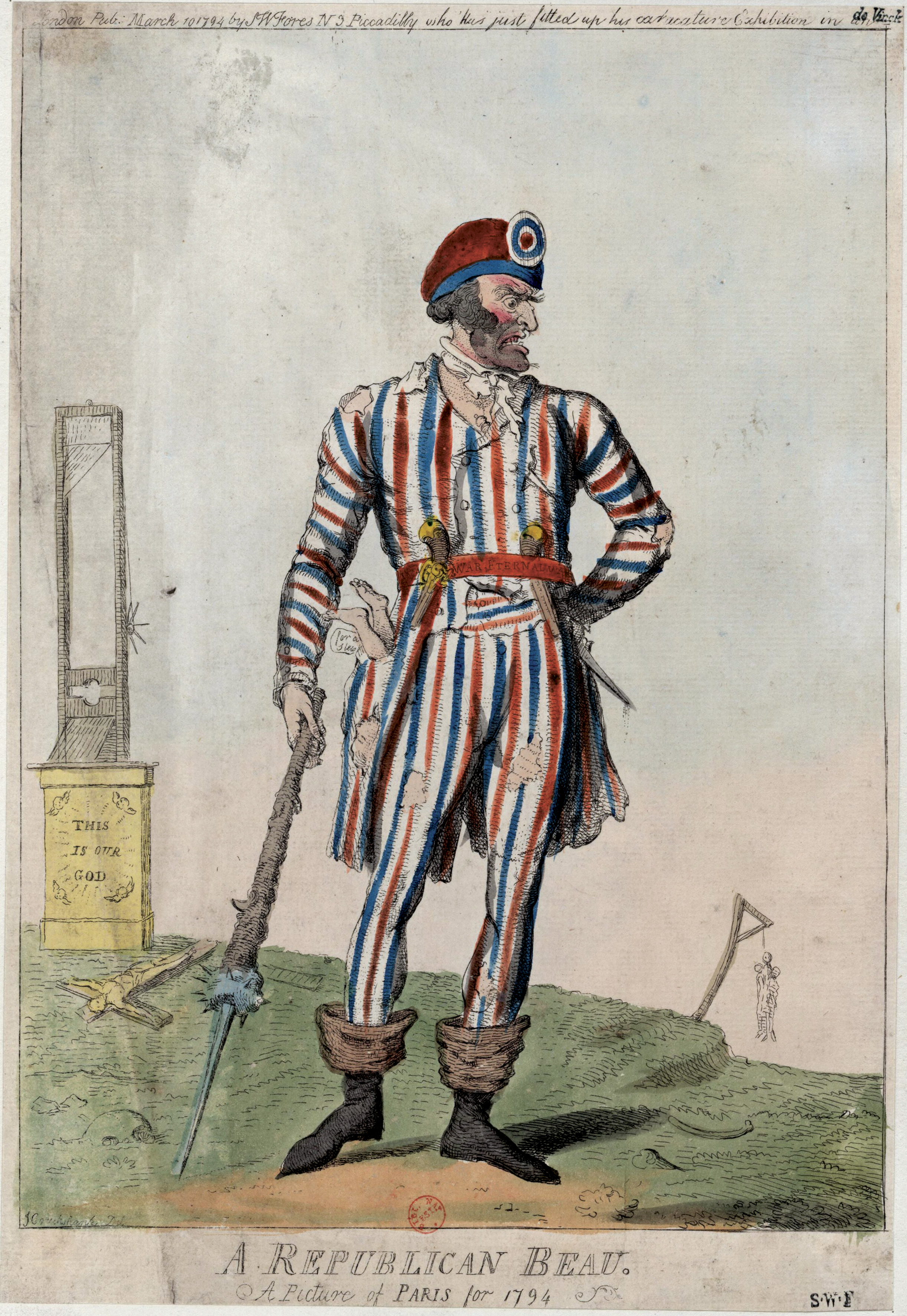 Filea Republican Beau A Picture Of Paris For 1794jpg