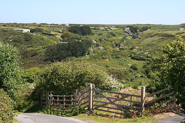 File:Across Trevellas Coombe to Cross Coombe - geograph.org.uk - 179044.jpg
