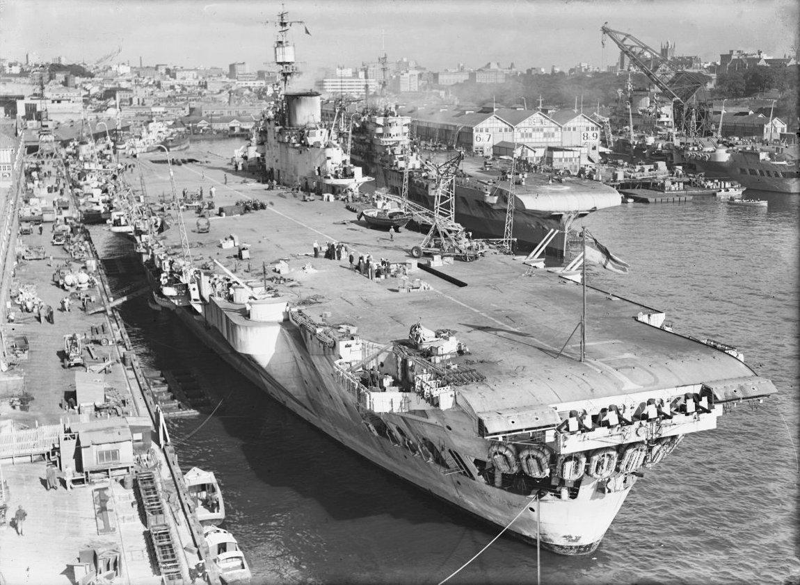 HMS Indefatigable (R10) Quiz