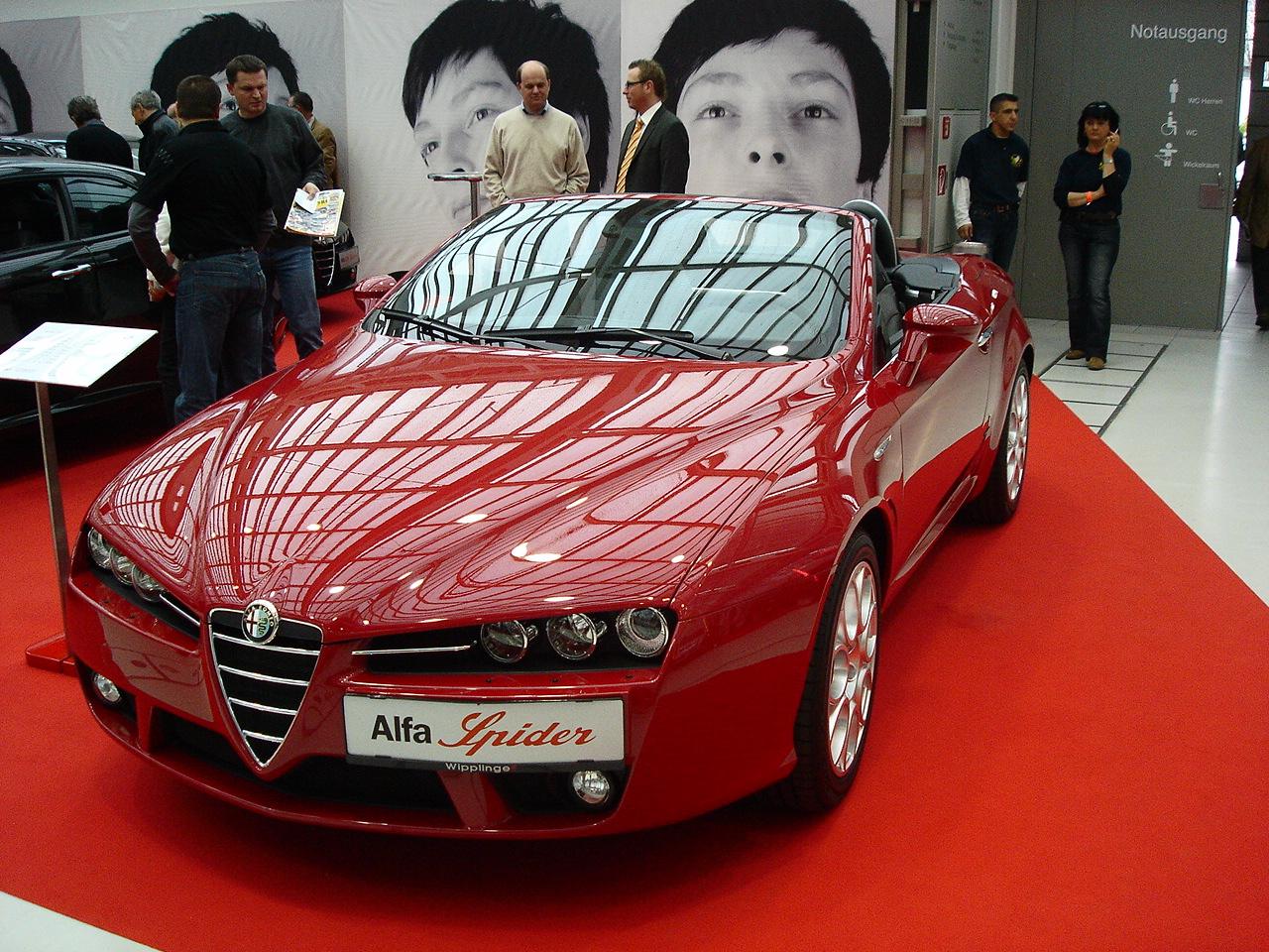 Alfa Romeo Spider (2007)