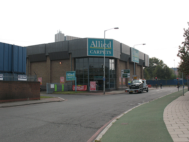 File Allied Carpets Thurston Road Geograph Org Uk 1496430 Jpg