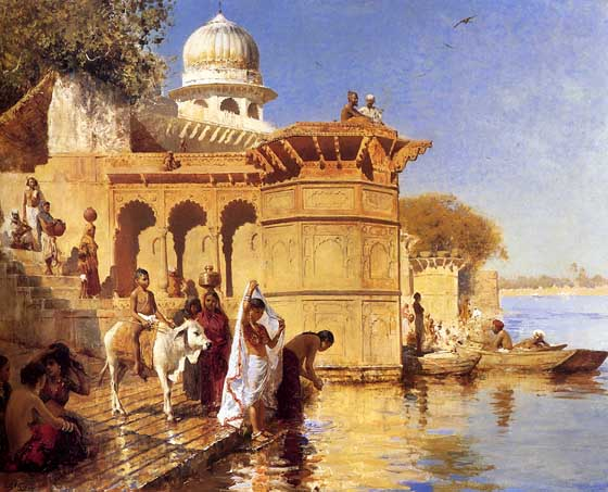 File:Along the Ghats of Mathura.jpg