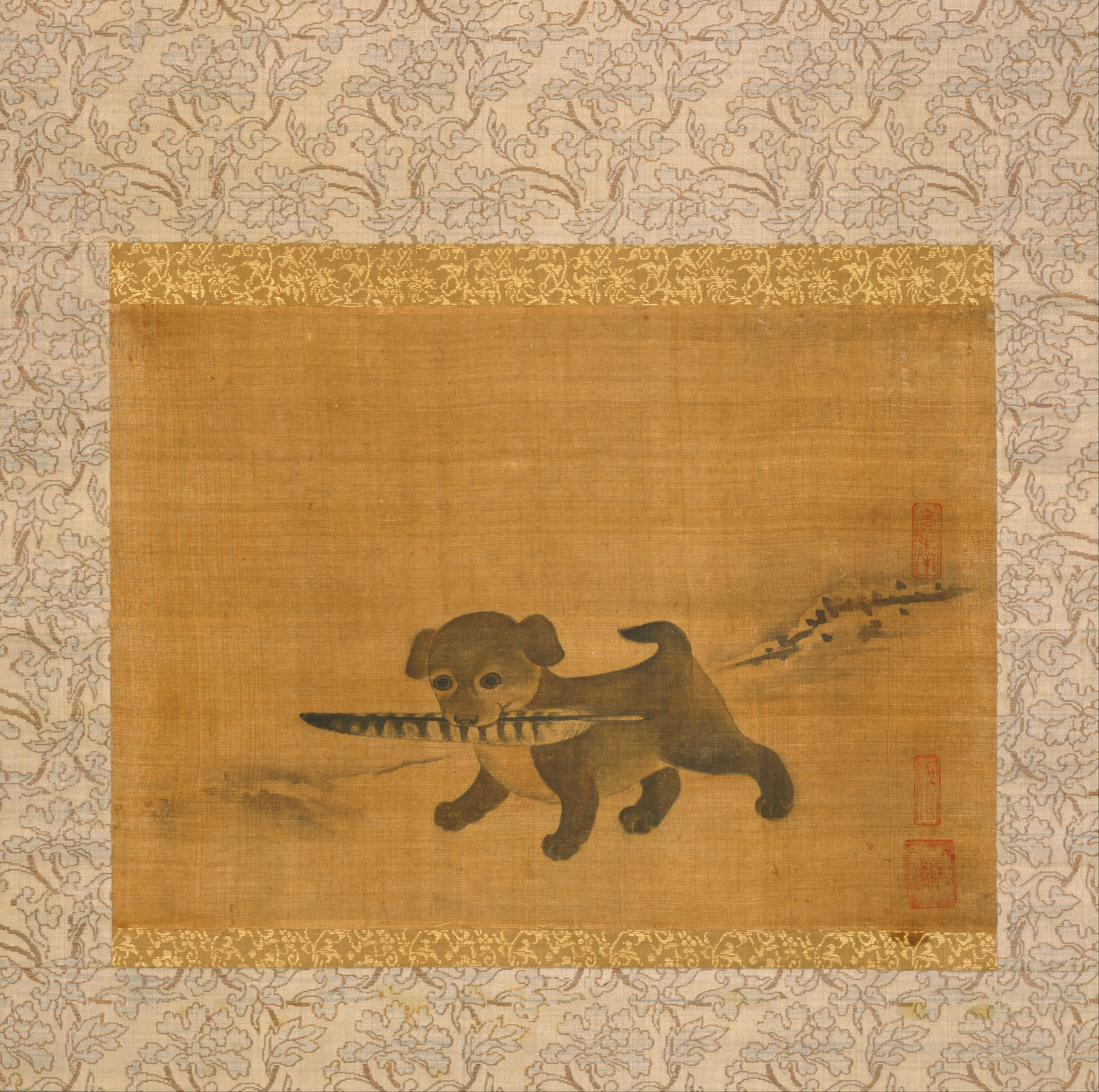 File Attributed To Yi Am Korean Puppy Playing With A