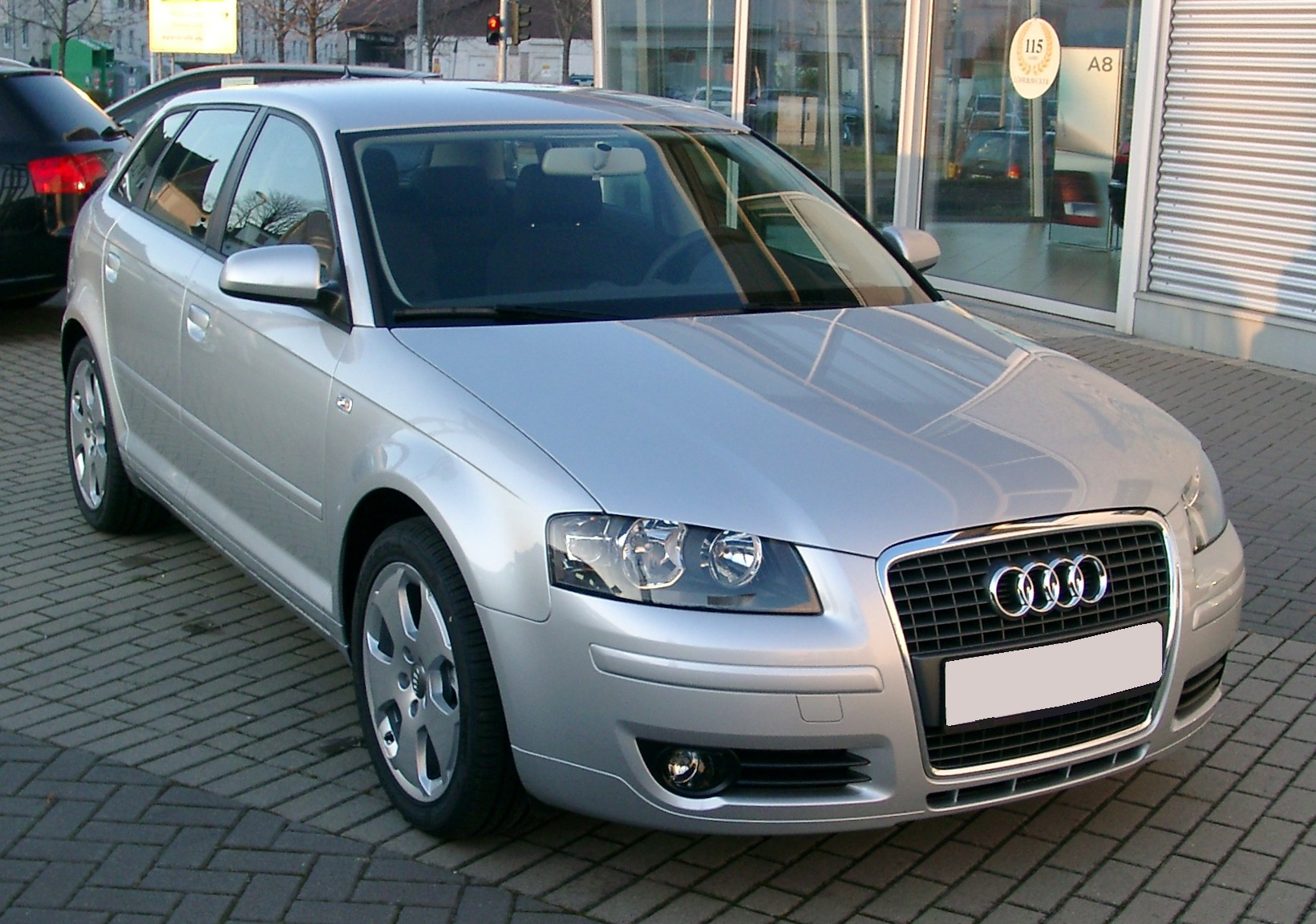 File Audi A3 Front 20071220 Jpg Wikimedia Commons