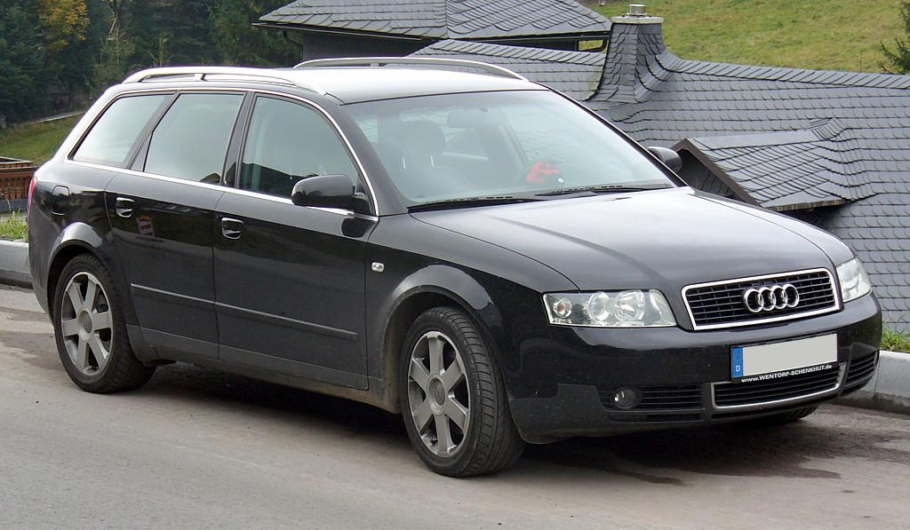 File Audi A4 B6 Avant Black Jpg Wikimedia Commons