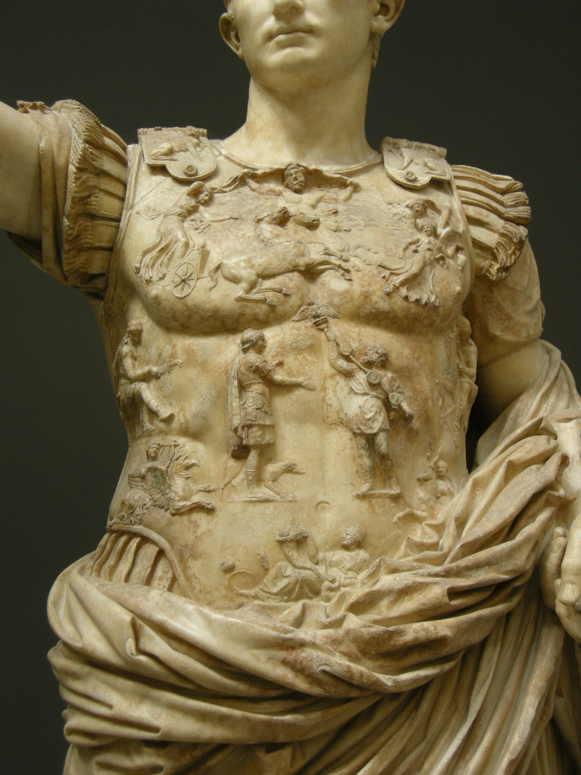 the discovery and significance of the sculpture of augustus of prima porta in 1963