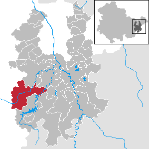 Auma-Weidatal Place in Thuringia, Germany