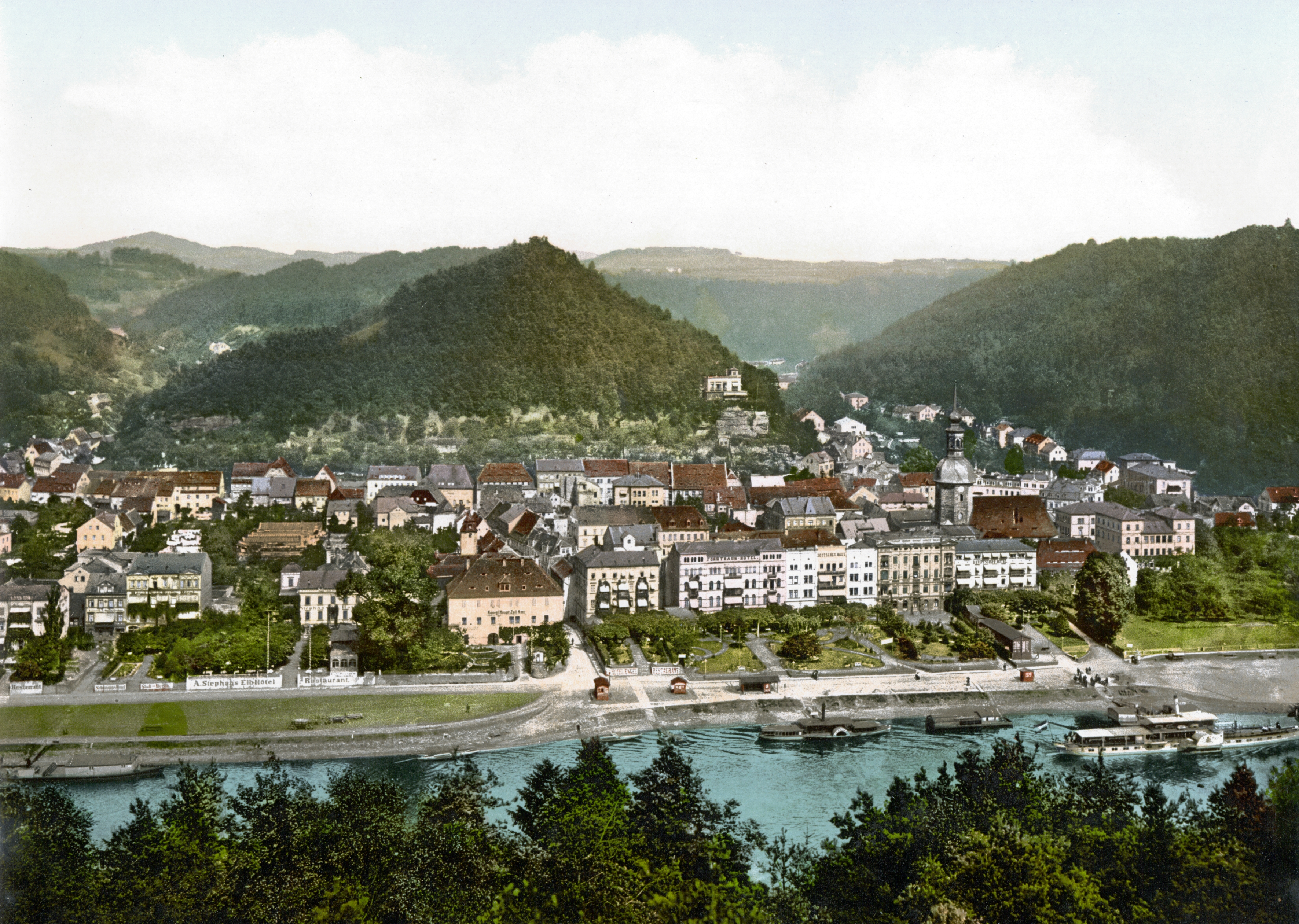 File:Bad_Schandau_around_1900_ _2 on Color By Number Division