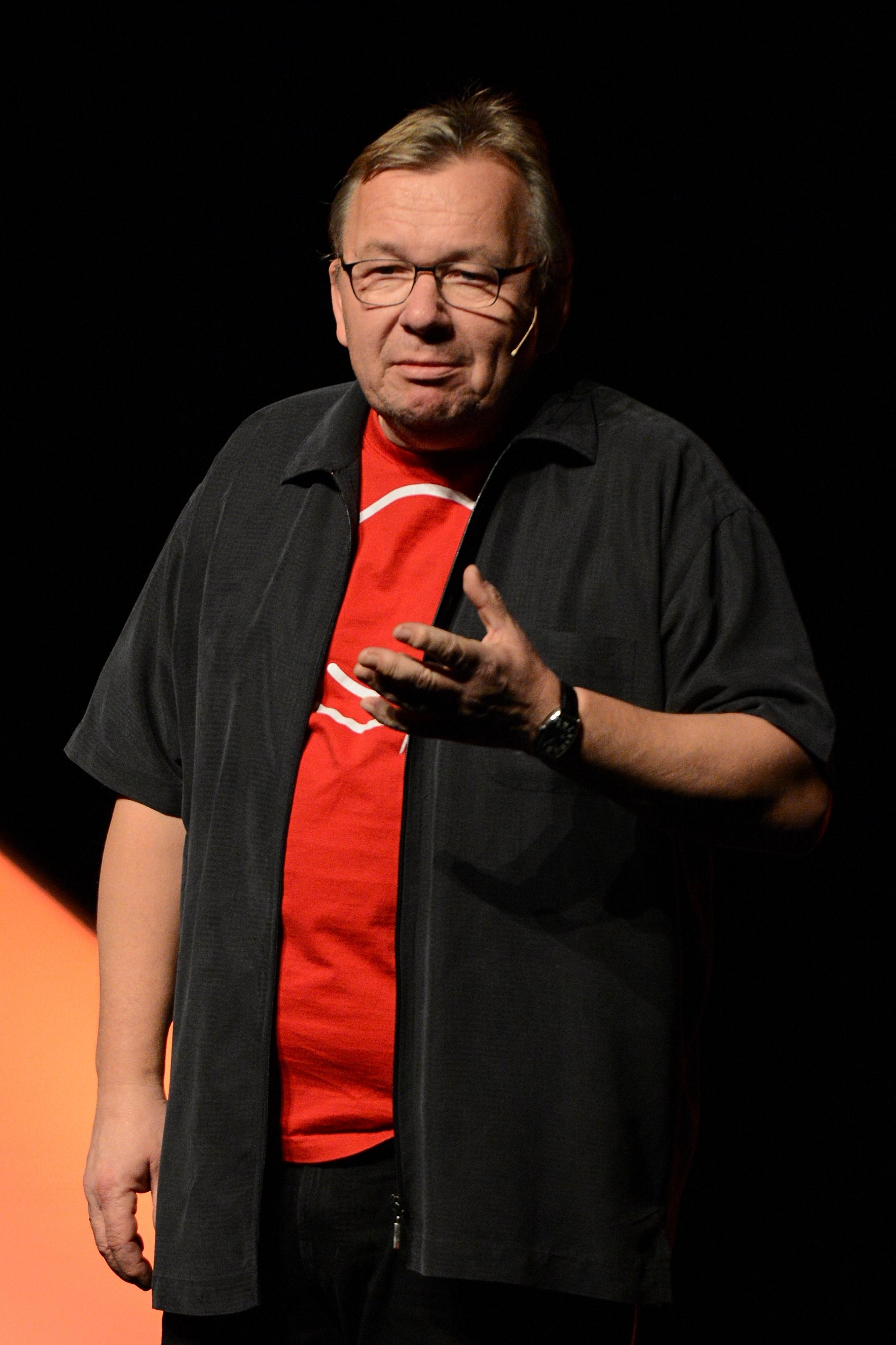 Bernd Stelter Größe