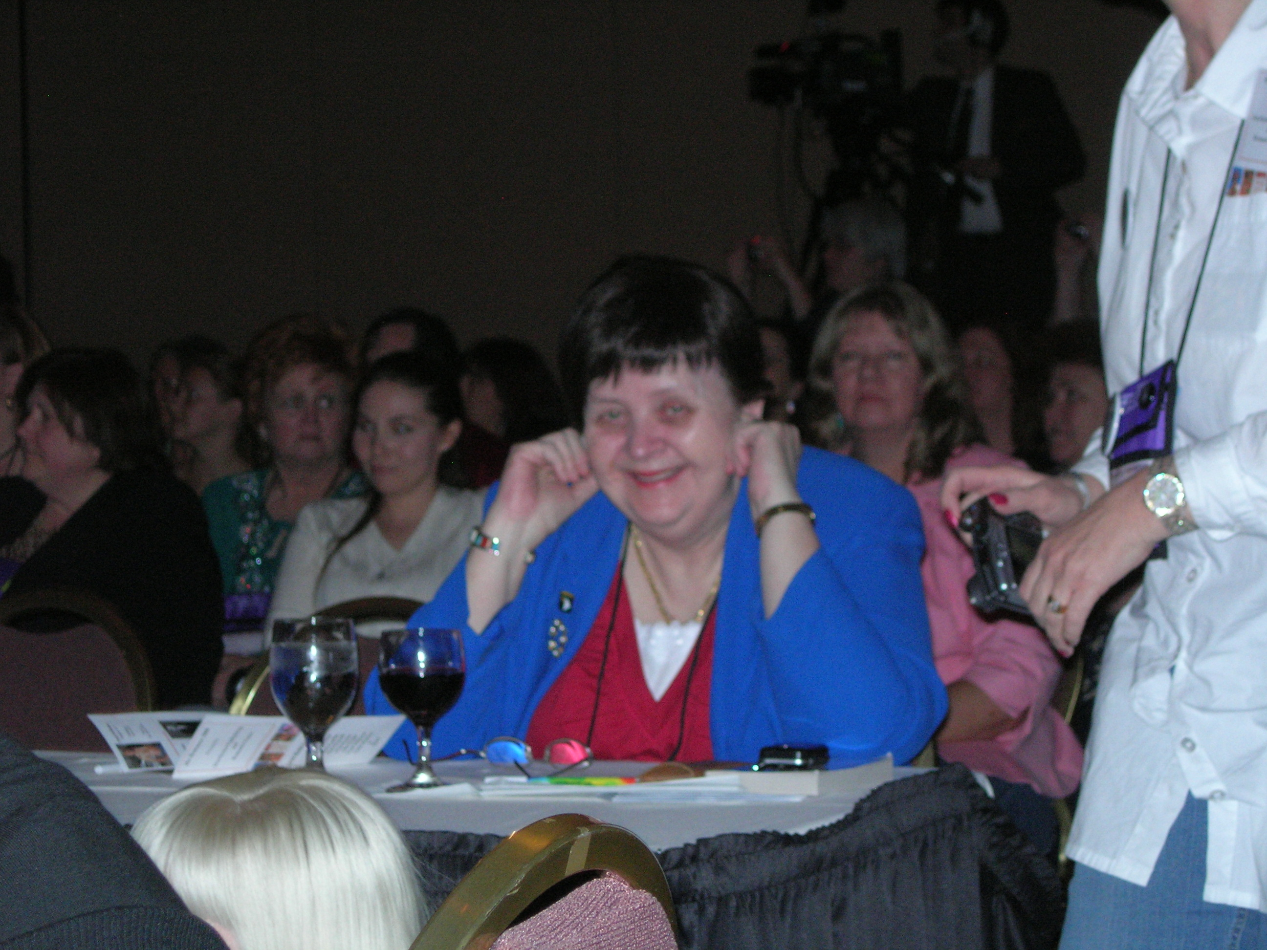 Small at the 2008 Romantic Times Booklovers Convention in [[Pittsburgh]]