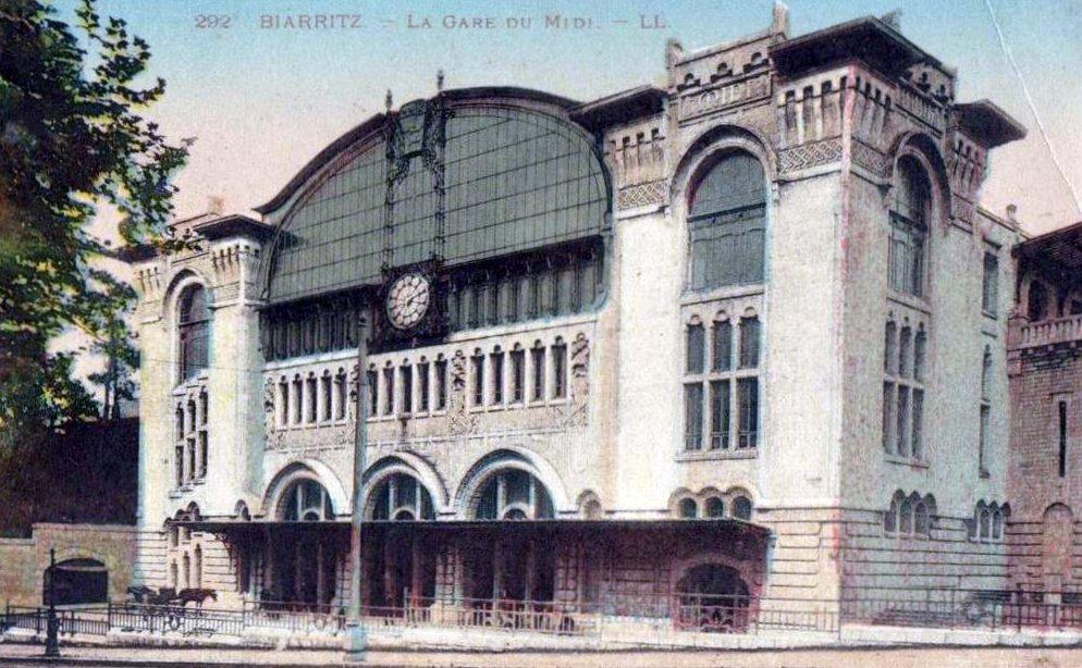 Aller De La Gare De Biarritz Au Centre Ville
