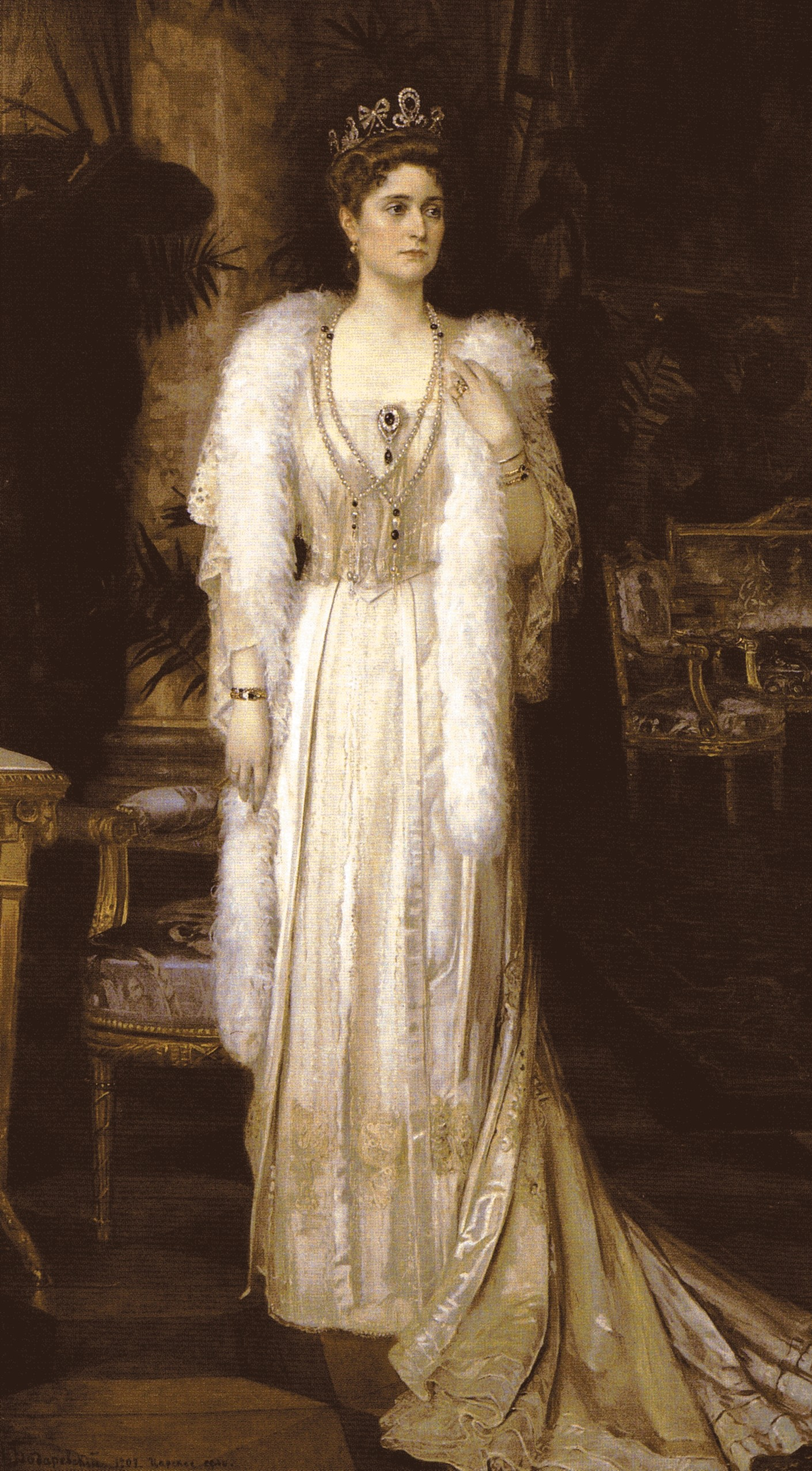 Saturday Sparkler: Alexandra Feodorovna's Emerald Tiara