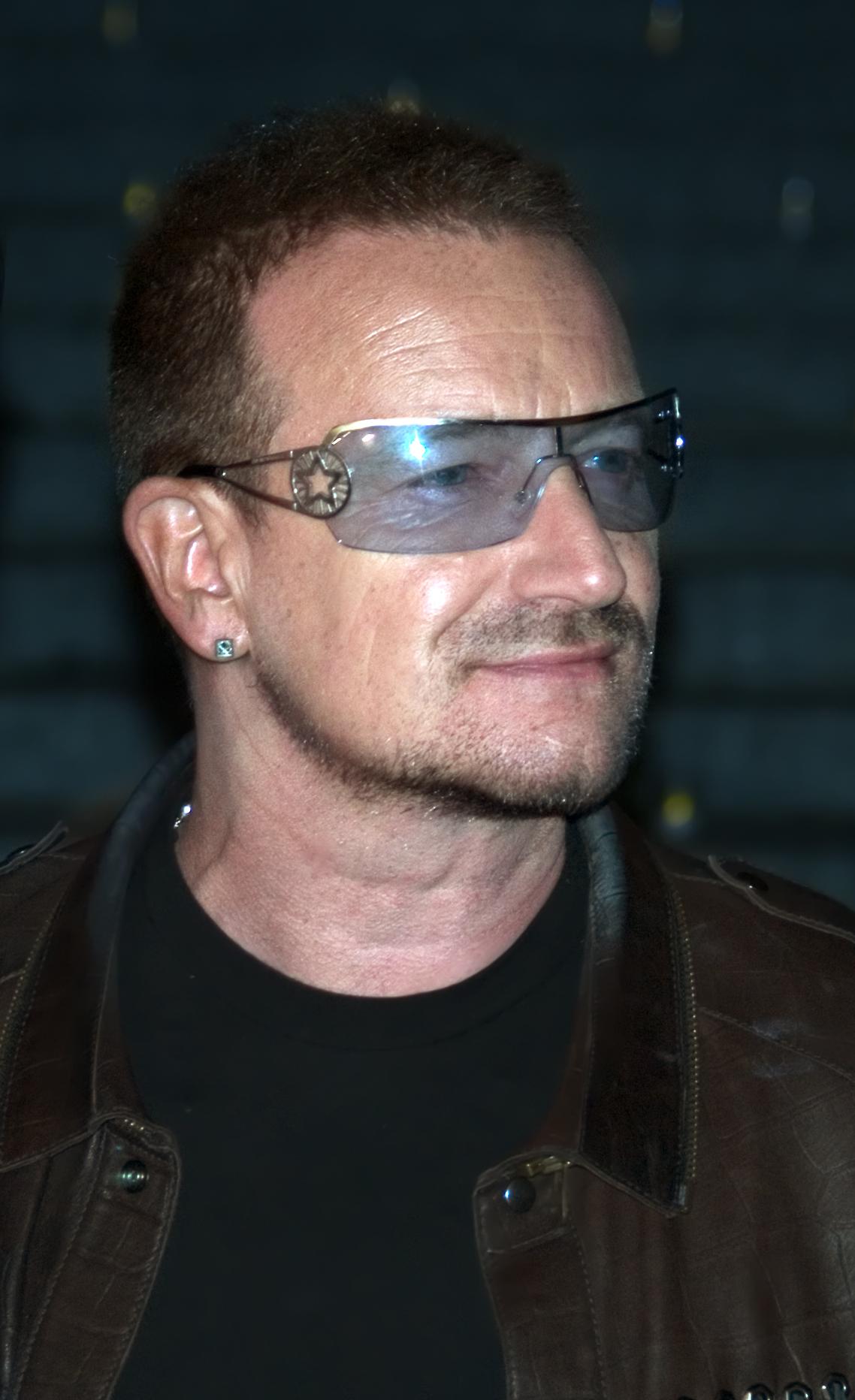 Classify U2 singer Bono