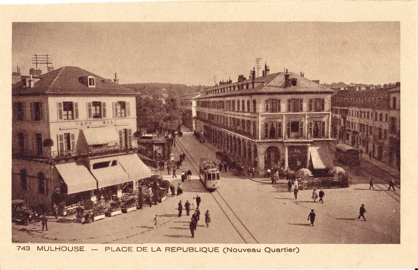 Fichier braun 743 mulhouse place de la r publique nouveau quartier jpg wikip dia - Mulhouse habitat porte du miroir ...