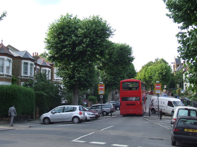 File:Buses Only, Pepys Road near Brockley - geograph.org.uk - 2490656.jpg