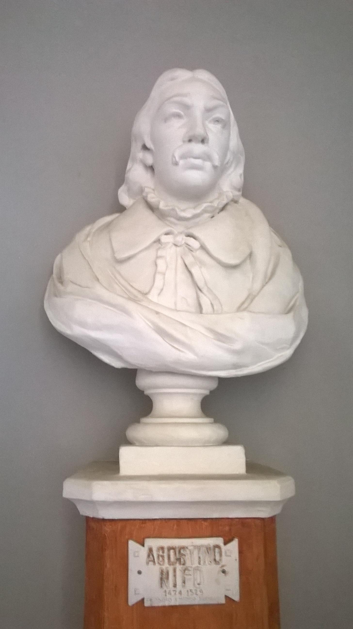Bust of Agostino Nifo ([[Liceo classico