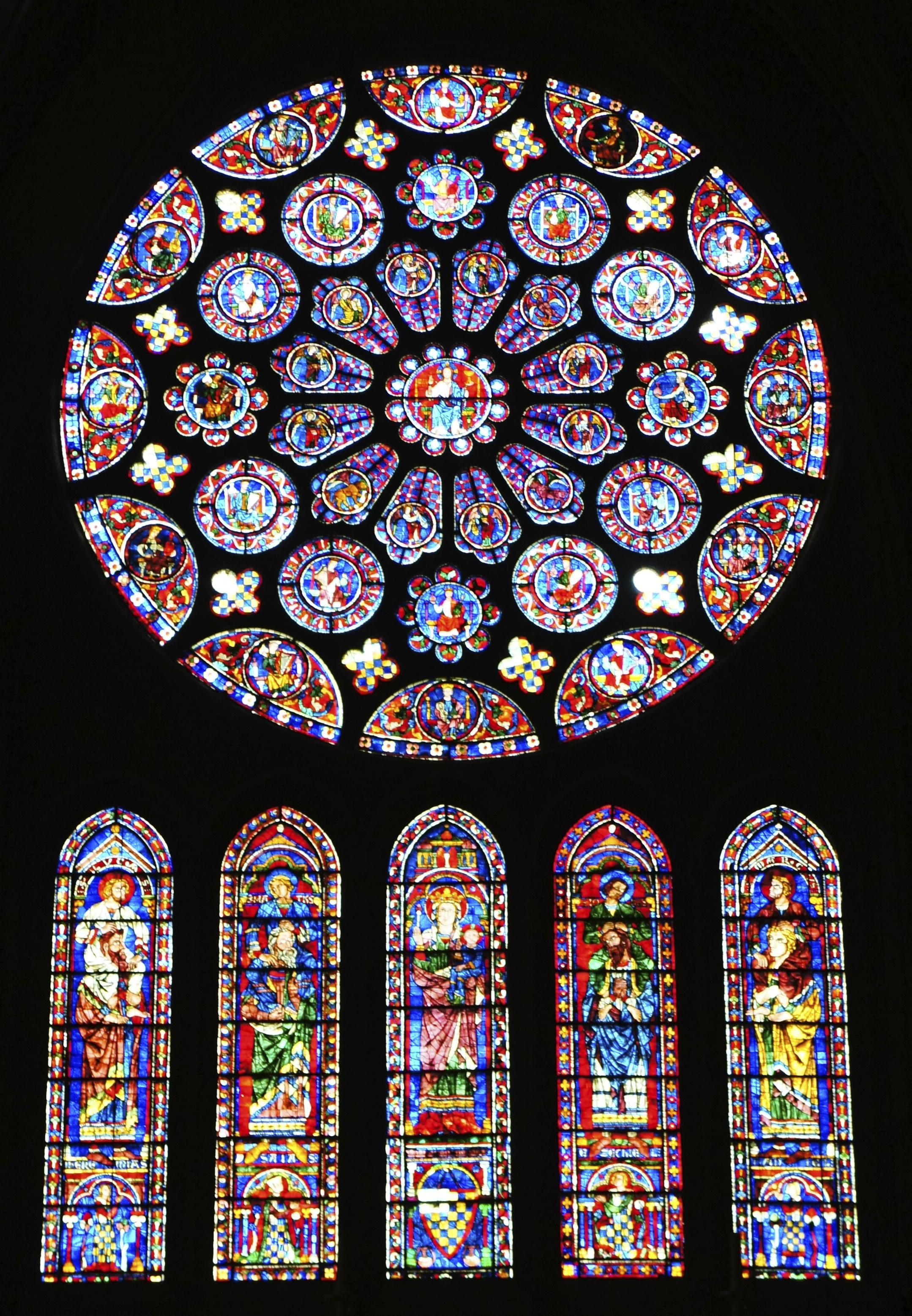 File Cath 233 Drale De Chartres Vitrail Transept Sud Jpg
