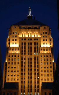 Chicago Board of Trade Building, hoofdkantoor van de CME Group