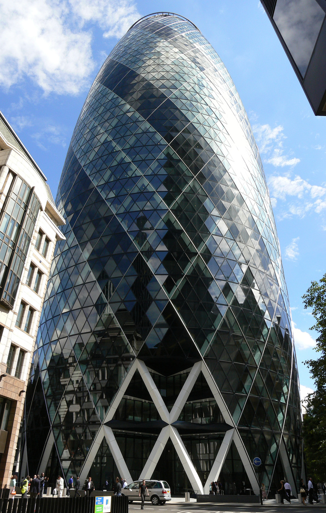 "Swiss Re London HQ ""The Gherkin"""