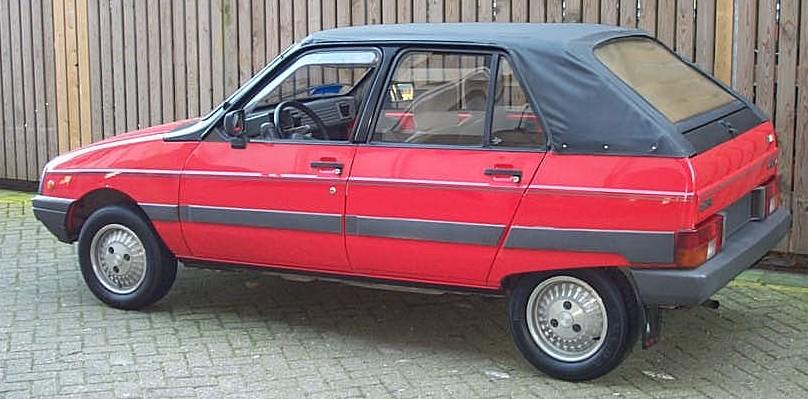 Citroën Visa Cabriolet Side