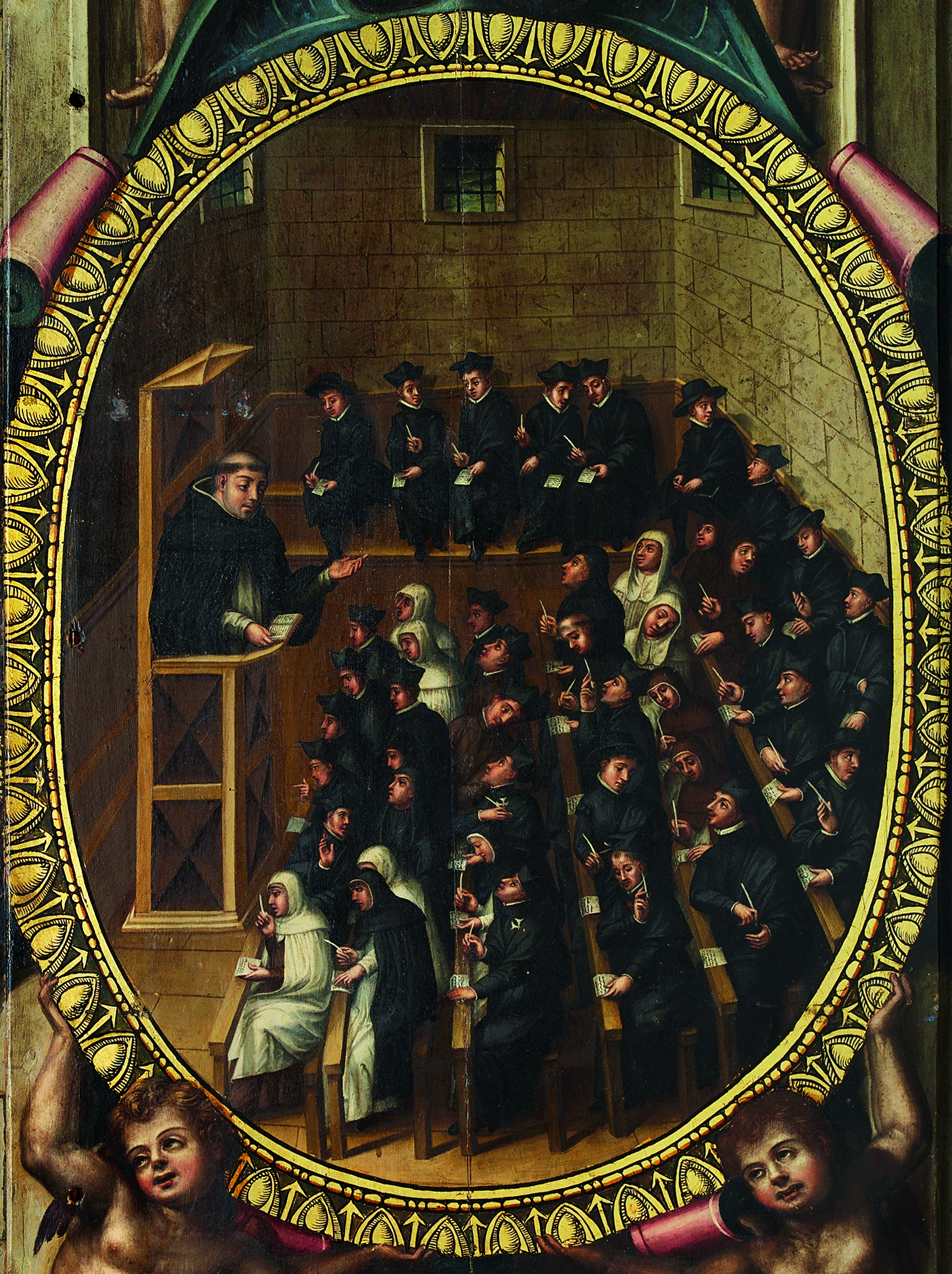 Class at Salamanca University
