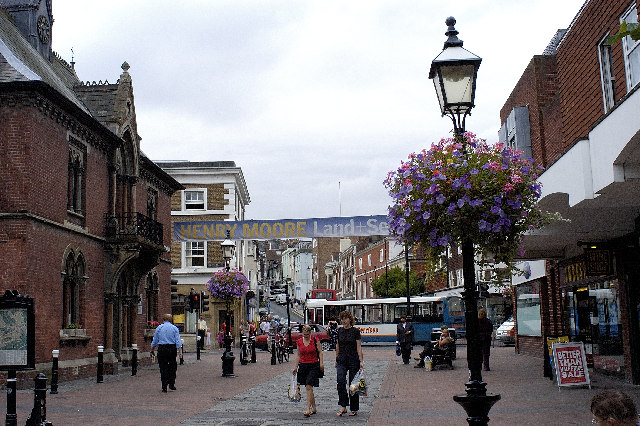 Cliffe High Street, Lewes - geograph.org.uk - 43480