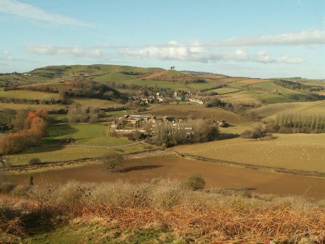 Colmers hill and symonsbury - geograph.org.uk - 122075