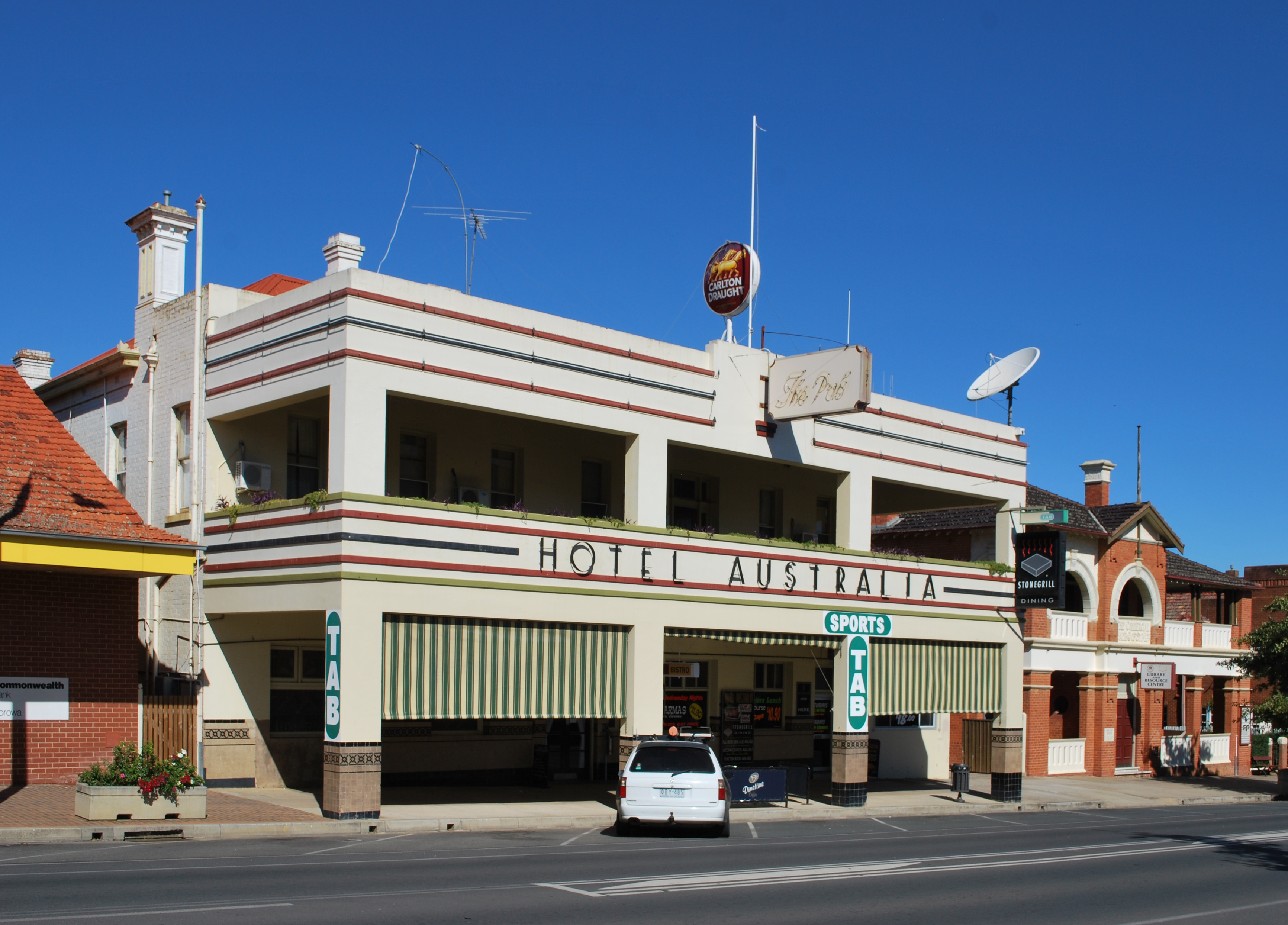 Corowa Australia  City new picture : Corowa Hotel Australia 002 Wikimedia Commons