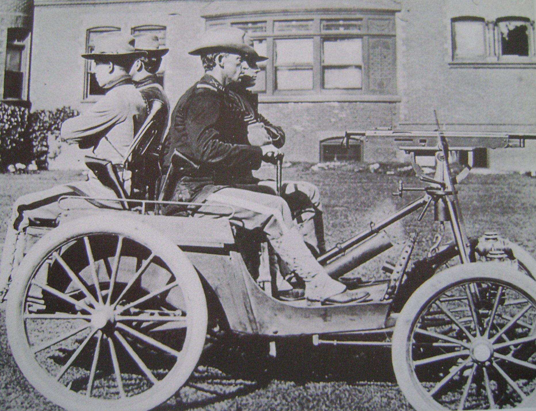 Davidson duryea gun carriage military wiki fandom for Car carriage