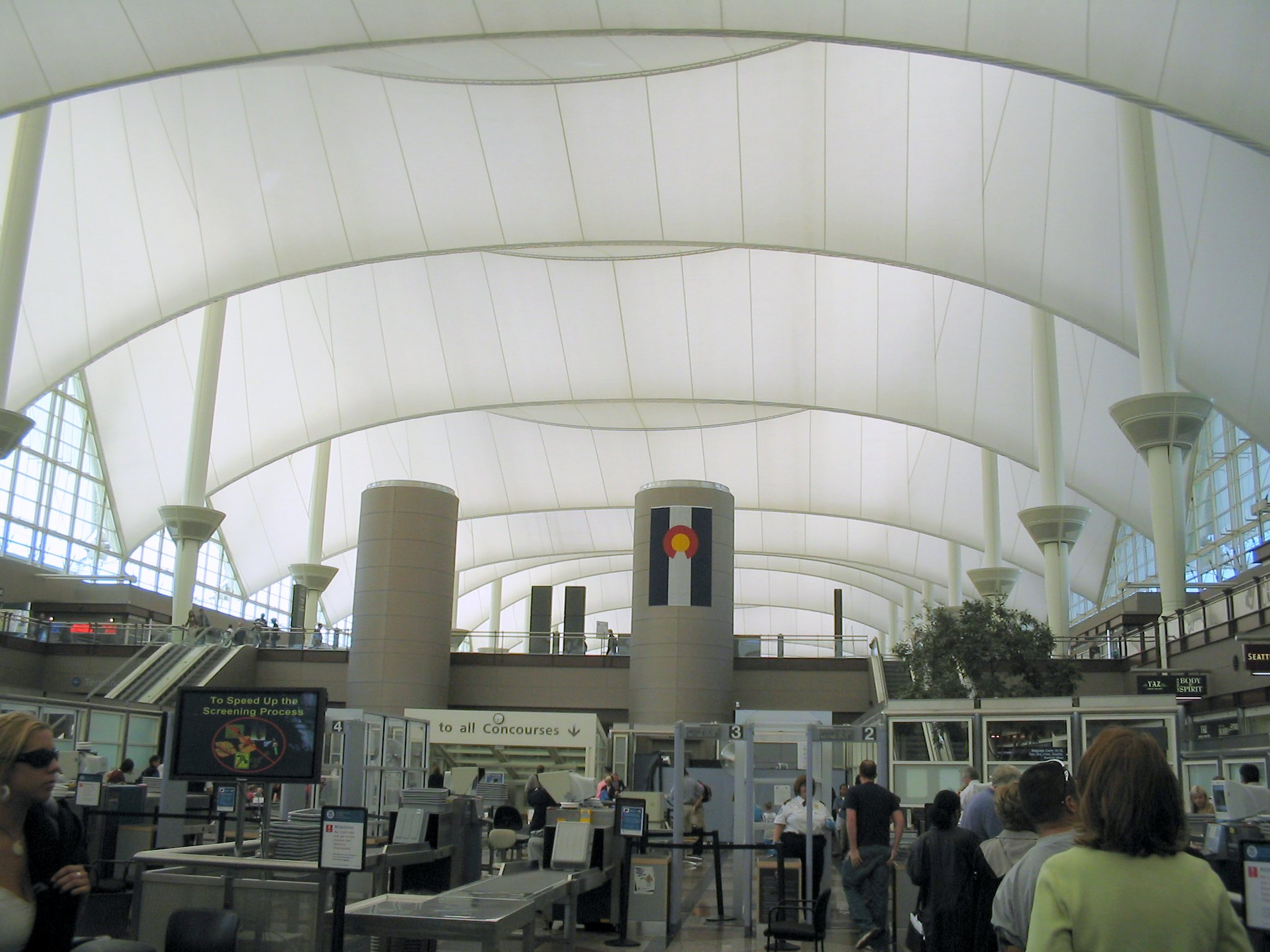 File:Denver International Airport, from security line - 2 ...