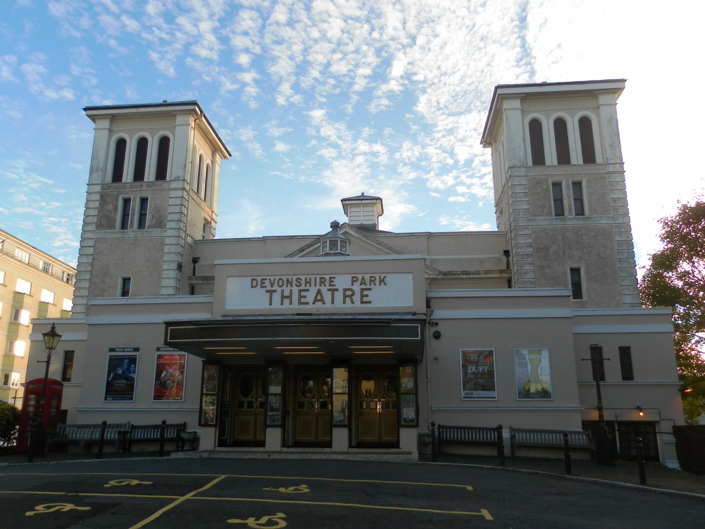 Devonshire park theatre for The devonshire