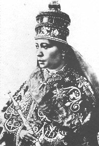 Empress of Ethiopia from 1916 to 1930