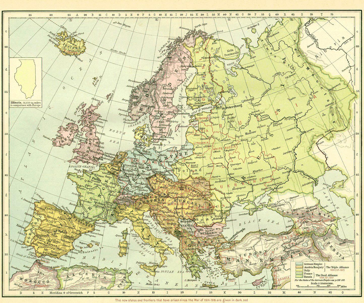 File Europe 1918 Jpg Wikimedia Commons