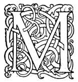 fancy letter m file fancy letter m 4 jpg 256