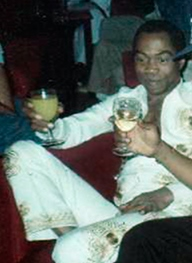 Fela Kuti Nigerian musician and activist