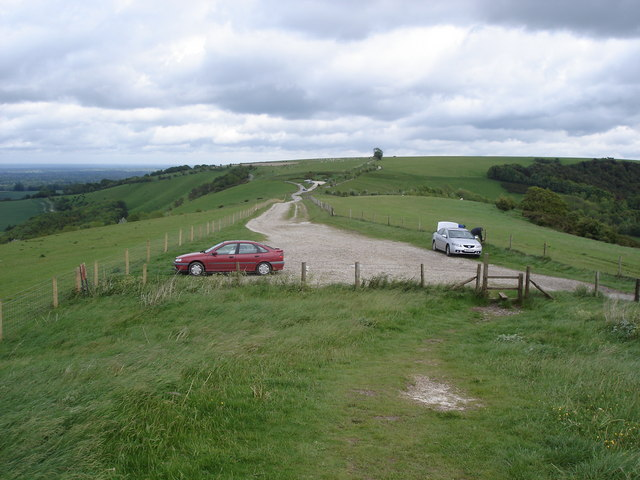 Gallows Down - view to the east from Combe Gibbet - geograph.org.uk - 1179068