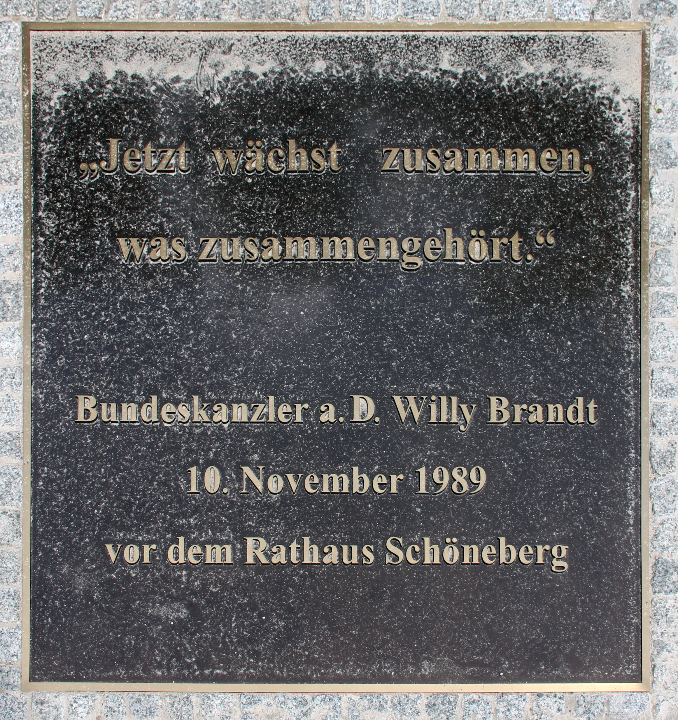Filegedenktafel Axel Springer Str 65 Kreuz Willy Brandtjpg