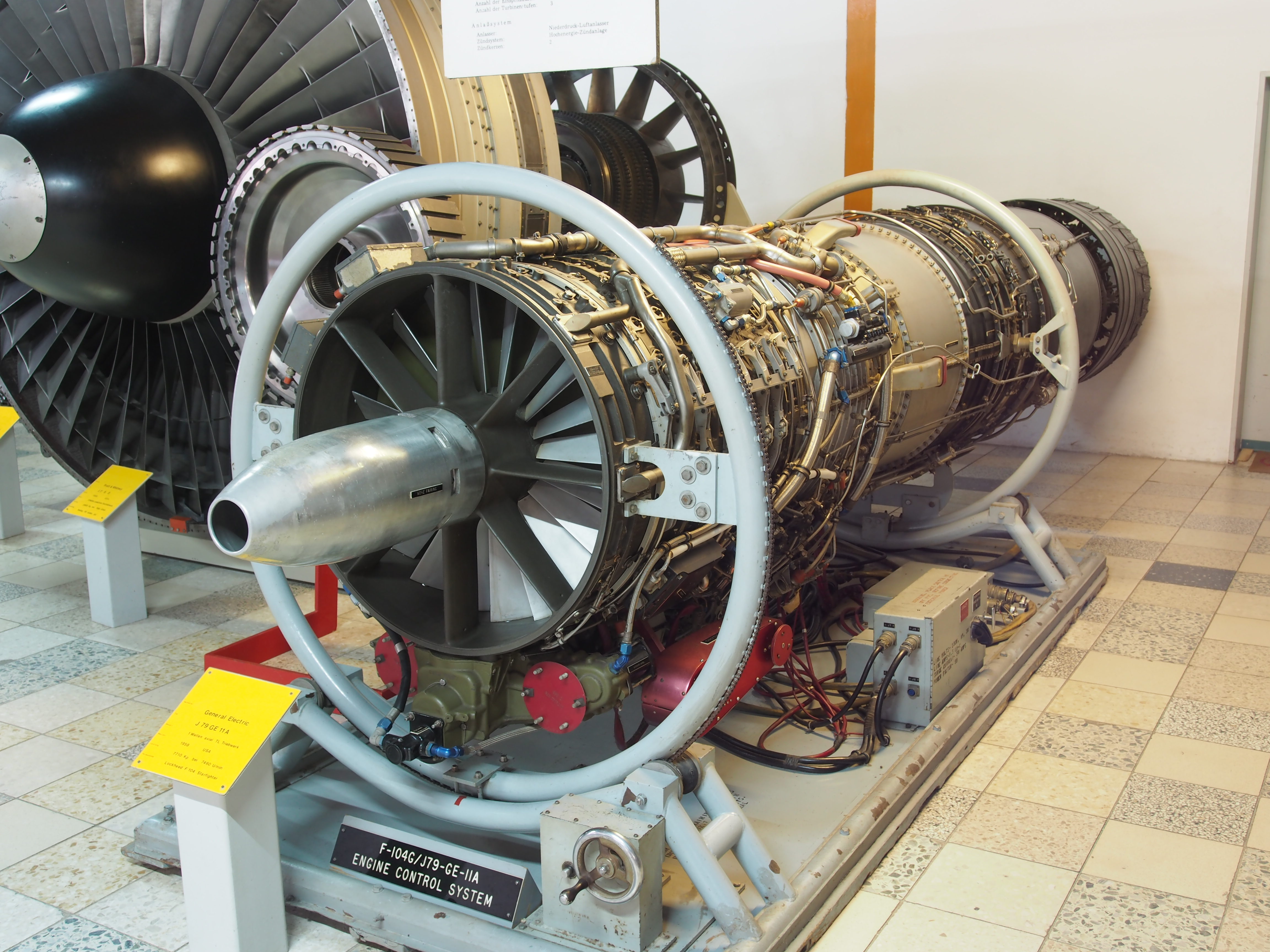 File General Electric J79 GE 11A 1958 on engine control system