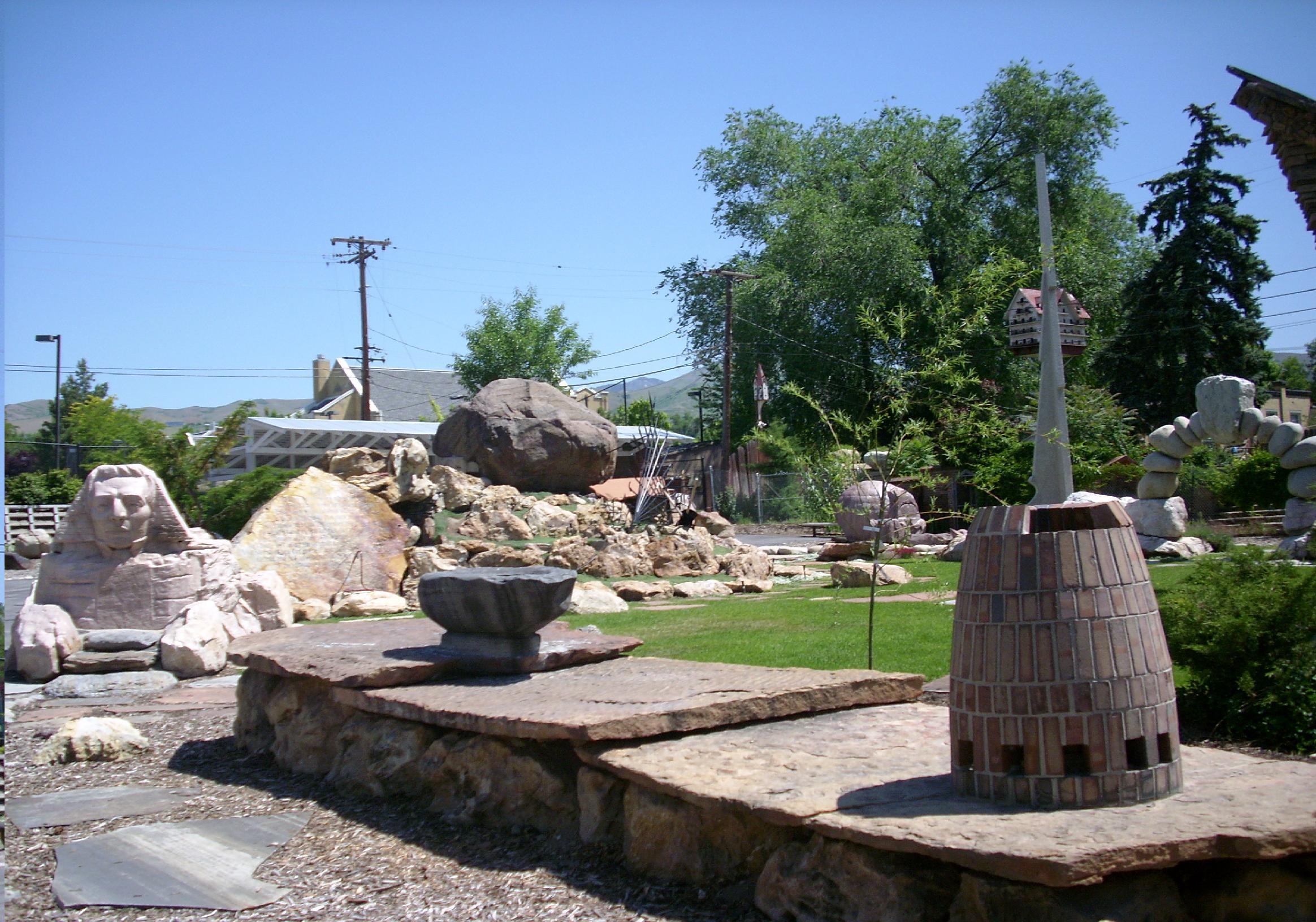 Outdoor Sculptures In Utah
