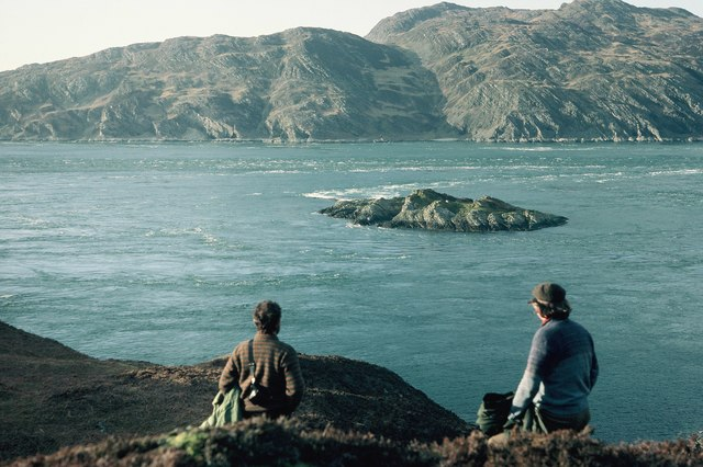 English: Gulf of Corryvreckan View from near B...